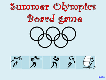 Summer Olympics Boardgame