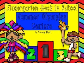 Summer Olympics Centers- Kindergarten