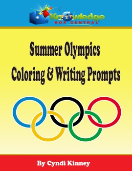 Summer Olympics Coloring & Writing Prompts