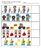 Summer Games NO PREP Cut and Paste Math Printables for Cen