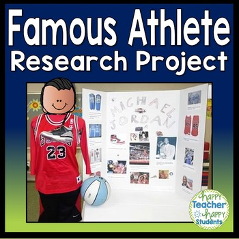 Olympics Research Project - Famous Olympians - Perfect for