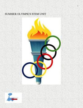 Summer Olympics STEM Bundle
