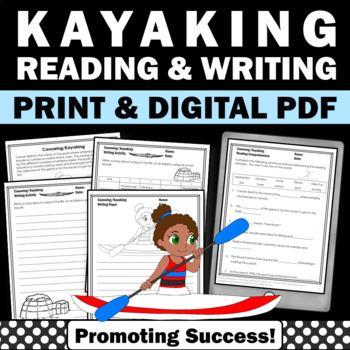 Summer Olympics Sports CANOEING KAYAKING Reading & Writing