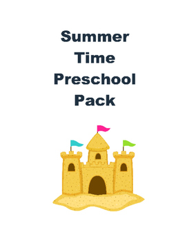 Summer Pack for Preschoolers