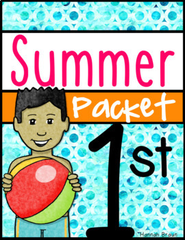 Summer Review Activities Packet for 1st Grade