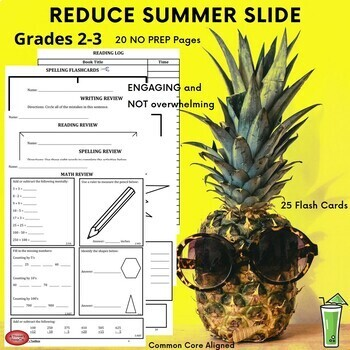 Summer Packet - Incoming 3rd Graders