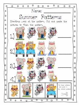 Summer Pattern FREEBIE