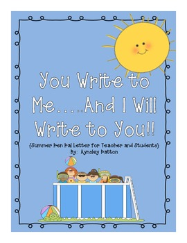 Summer Pen Pals!! {You Write to Me... I Will Write to You!}