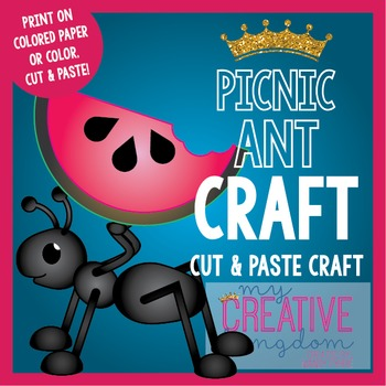 Summer Picnic Ant (Glyph) Craft