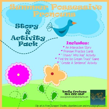 Summer Possessive Pronoun Pack