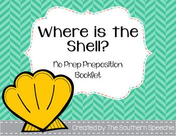 Summer No Prep Preposition Booklet