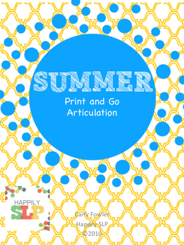 Summer Print and Go Articulation