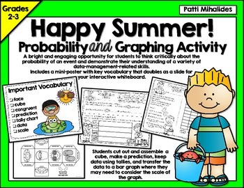 Summer Probability/Graphing Activity: Hands-On Math for 2n