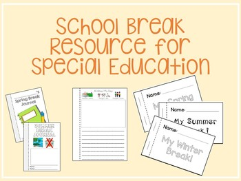 Summer Project for Skill Maintenance *Autism, ABA, Special