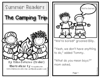 Summer Readers: The Camping Trip for Transitional Readers