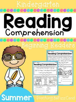 Reading Comprehension Passages For Beginning Readers (SUMM