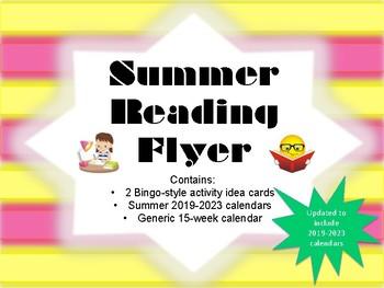 Summer Reading Flyer (Summer Reading Activities and Summer