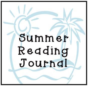 Summer Reading Journal - Beach Theme