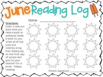 Summer Reading Logs {everything you need to keep them reading!}