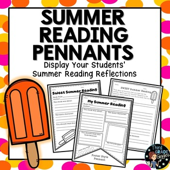 Summer Reading Reflection Pennants