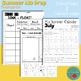 Summer Review No Prep Pack Kindergarten