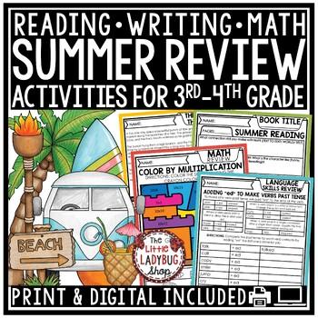 Summer Packet • 2nd Grade, 3rd Grade, 4th Grade