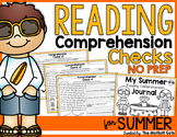 Summer Review Reading Comprehension Checks