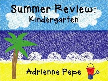 Summer Review for the Kindergarten Graduate