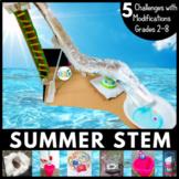 Summer STEM Design Challenge 5-in-1 Bundle