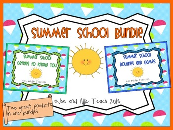 Summer School Bundle