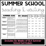 Summer School Literacy Materials