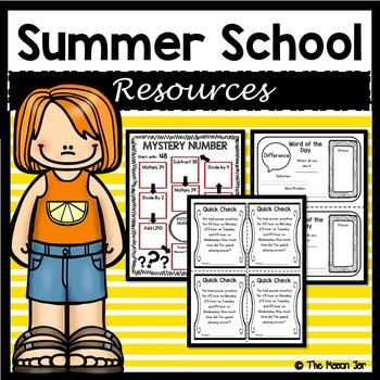 Summer School Resources - 4th Grade Math