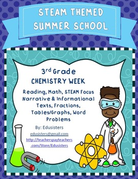 Summer School STEM Themed Chemistry Week Reading & Math 3r