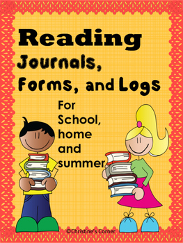 Summer Reading and Home Book Logs, Forms