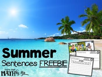 Summer Sentences FREEBIE