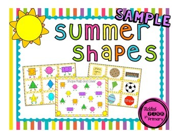 FREE Summer Shapes
