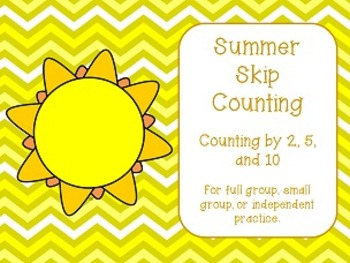 Summer Skip Counting
