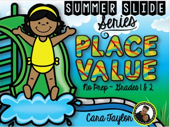 Summer Slide Series ~ Place Value No Prep Printables for Y