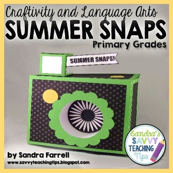 Summer Snaps - a back to school activity