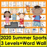 Summer Activities:  Summer Sports 2016 Readers - 3 Levels