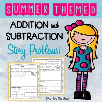 Summer Story Problems!