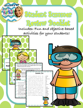 Summer Student Review Booklet