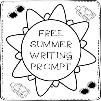Summer Sun Writing Prompt