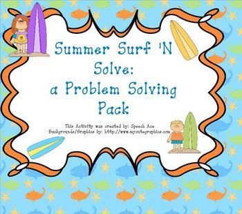 Summer Surf N Solve: a Problem Solving Pack