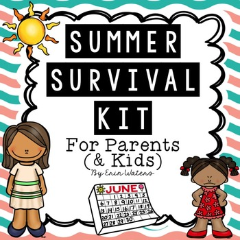 Summer Survival Kit For Parents {& Kids!}
