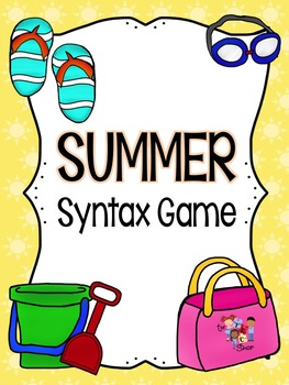 Summer Syntax Games