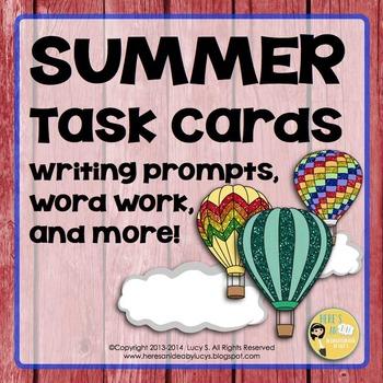 Summer Task Cards