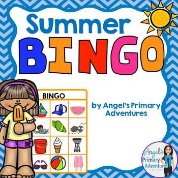 Summer Themed Bingo Game