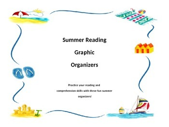 Summer Themed Graphic Organizers