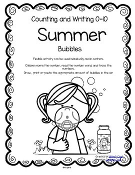 SUMMER Bubbles Counting